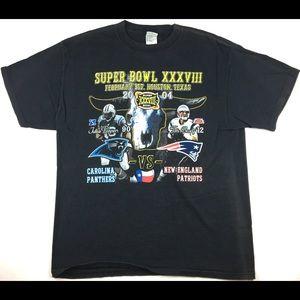 VTG 2004 Super Bowl XXXVIII Patriots Vs. Panthers